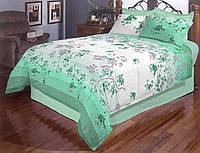 Двоспальний постільний комплект - Бірюзова ніжність