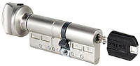 Цилиндр замка Tokoz PRO 300 70мм (35x35T) ключ-тумблер матовый никель