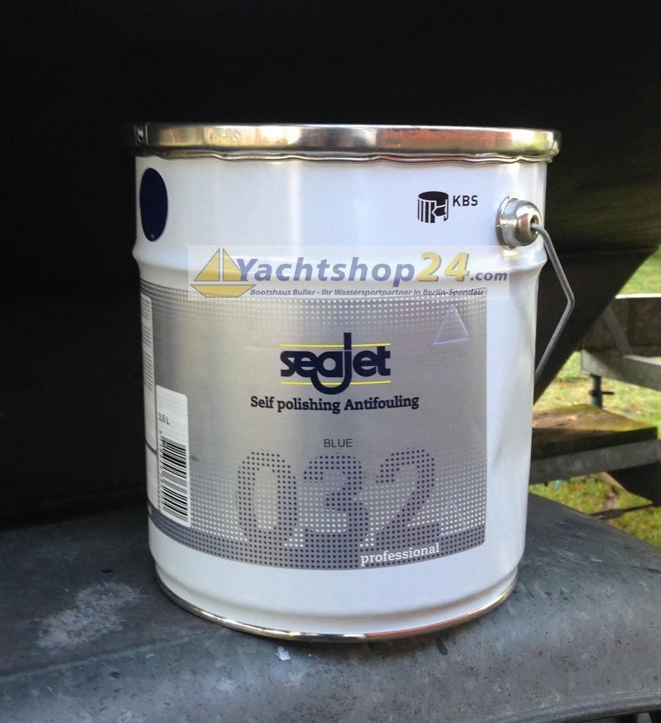 Антиобростайка для лодки белая 3,5 литра с самополировкой Seajet 032 professional