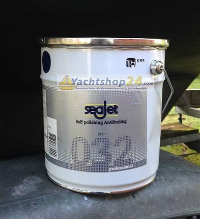 Антиобростайка для лодки белая 3,5 литра с самополировкой Seajet 032 professional, фото 2