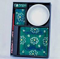 Набор для суши 6  предметов, цвет зеленый