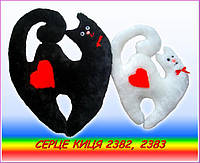 Мягкая игрушка Сердце Кошка (43см)