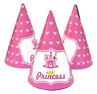"""Колпаки праздничные, маленькие """"Принцесса"""""""