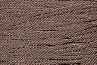 Канат декоративный тейлон 5мм (50м) т.коричневый , фото 1
