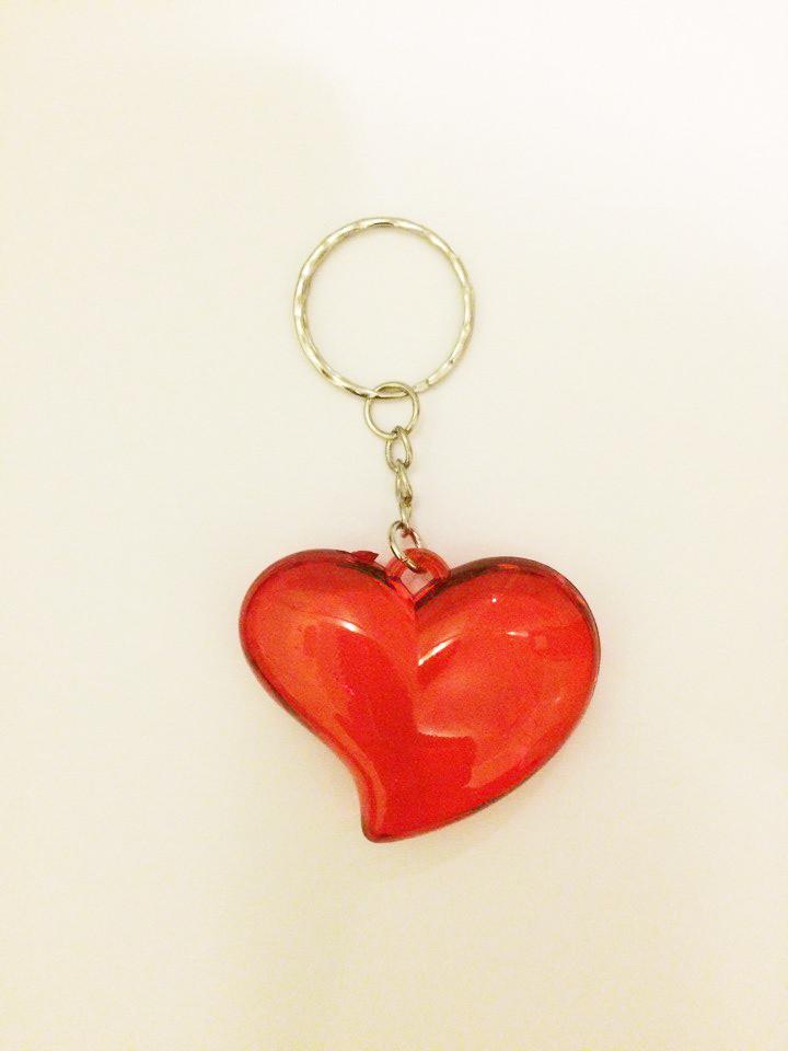 Брелок серце b 12 штук
