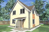 """Канадский дом из сип панелей """"СИПэко"""""""