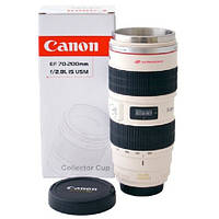 Чашка термос объектив 70-200mm кружка Caniam Canon