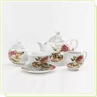 """Чайный набор 17 пр. """"Небесные Розы"""""""