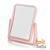 Настольное косметическое зеркало для макияжа Pink