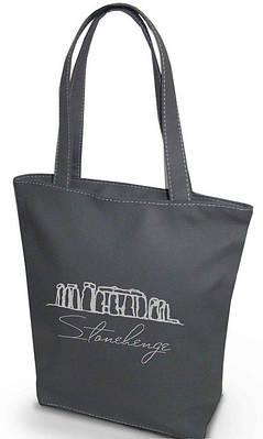 """Женская сумка """"Стоунхендж"""" Б65 - серая"""
