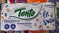 Туалетная бумага TENTO Ellegance 3х слойная 8 рулонов