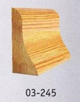 Фреза по дереву для изготовления плинтуса 125х32х50