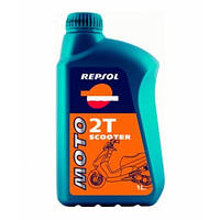 Масло моторное REPSOL MOTO SCOOTER 2T 1лит.