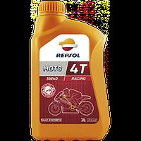 Масло моторное REPSOL MOTO RACING 4T 5W40 1лит.