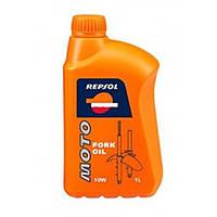 Масло вилочное REPSOL MOTO FORK OIL 10W 1лит.