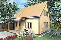 """Дешевый дом из сип панелей """"Сипэко"""""""