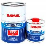 RL Грунт акриловый RANAL ECO 5+1 графит, 0,75л + отвердитель