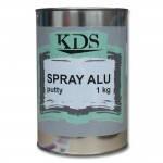 KDS Шпатлевка распыляемая Spray с алюминиевой пылью Alu 1кг