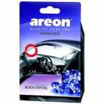 Ароматизаторы AREON Aroma box Black Crystal (под сиденье)