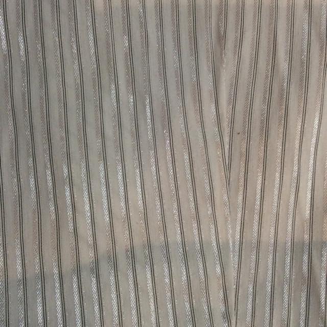 Ткань полосатая  светлая блузка р50