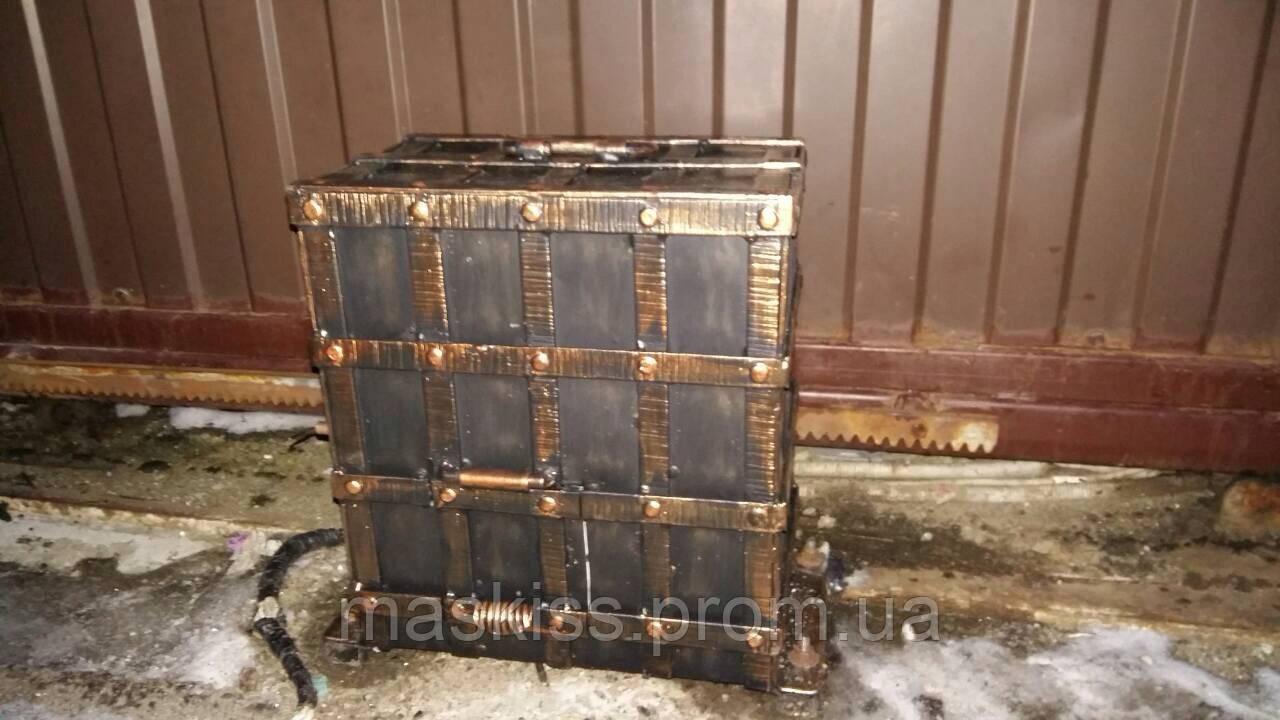 Антивандальный короб для привода откатных ворот