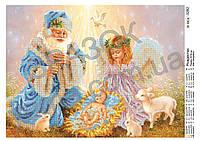 """""""Рождество"""".  Схема для вышивки бисером"""