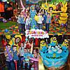 Аниматоры на детский день рождения на заказ домой  Харьков Миньоны