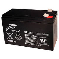 Свинцово-кислотная аккумуляторная батарея AGM RITAR RT1272 Black Case, 12V 7.2Ah/20HR