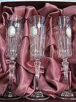 Набор хрустальных бокалов для шампанского Suggest  арт. PB225567