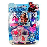 Косметика Frozen, 4 вида (тени, румяна, помады, блески, лаки)