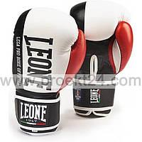 Боксерские перчатки Leone Contender White-16 oz