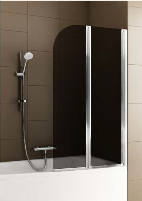 Шторка для ванн Aquaform BAOK-2  81х140 профиль хром 170-06981