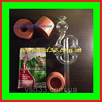 Гидрозатвор для брожения стекло ø13mm (стекло без пробки),бродительная трубка