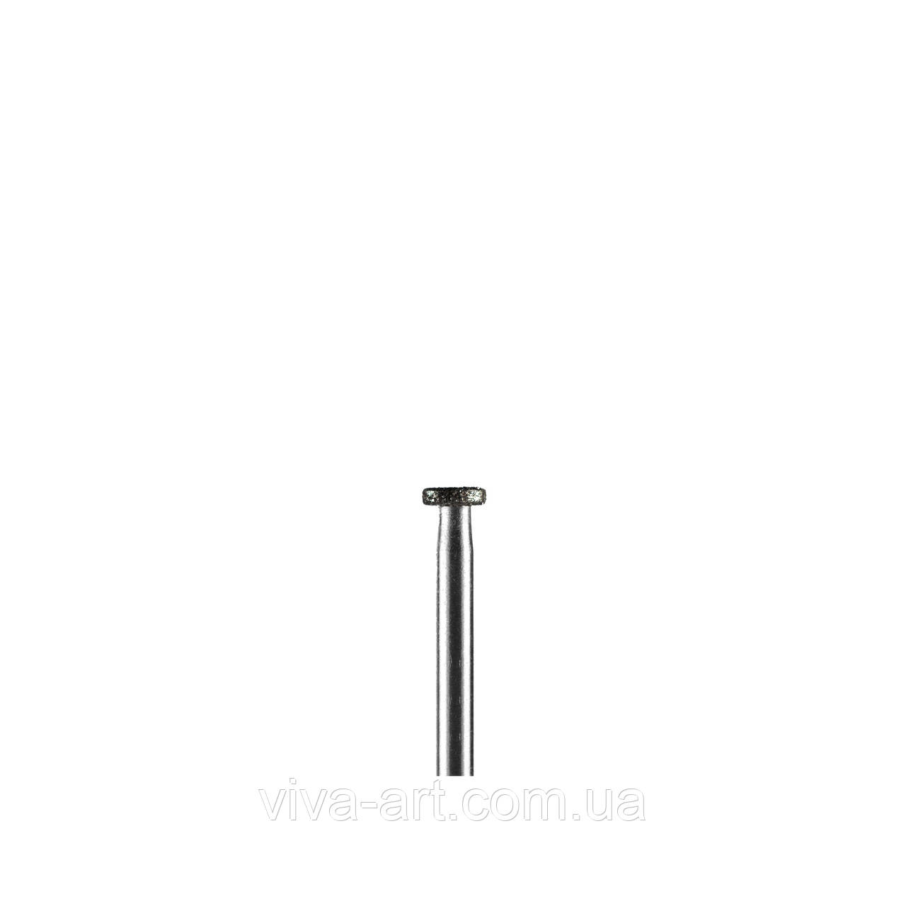 Алмазна насадка у формі диска, 4 мм, середній абразив, Diaswiss (Швейцарія)