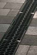 Решетка композитная 50см., B125, для каналов V 100 крепления DRAINLOCK, фото 1