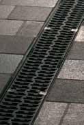 Решетка композитная 50см., B125, для каналов V 100 крепления DRAINLOCK