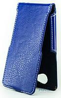 Чехол Status Side Flip Series Bravis A503 Joy Dark Blue