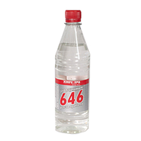 Растворитель 646 ТМ Химрезерв (0,5л/1л/5л/200л)От упаковки