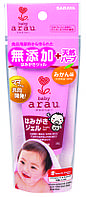 Детская зубная паста-гель натуральная Arau.baby 35 гр гипоаллергенная вкус мандарина