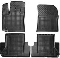 Полиуретановые коврики для Dacia Dokker 2013- (AVTO-GUMM)