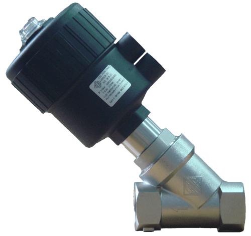 Клапана с пневмоприводом из нж стали (t=180°c) для пищевых, высоковязких а также агрессивных сред