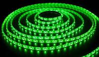 Светодиодная лента SMD 5050, 60 диодов/метр, 12V, 14.4W/m, 18lm, IP20, негерметичная, 5 метров, зеленая