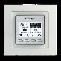 Терморегулятор TERNEO PRO White / Ivory