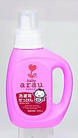Натуральное мыло для стирки детской одежды  Arau.baby 800 мл Япония