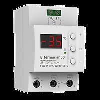 Терморегулятор TERNEO SN30 White