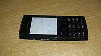 Корпус  Nokia X2-02 чёрный c клавиатурой