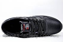Кроссовки мужские в стиле Reebok Classic Leather, кожаные, фото 2