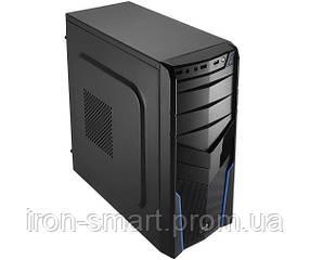 Корпус Aerocool PGS V2 X Blue, 550W, 120 mm, ATX, USB2.0 x 2, USB3.0 x 1, 2x3.5mm, 5.25 x 2, 3.5 x 2, 2.5 x 1, 0.5 mm, 175х410х405