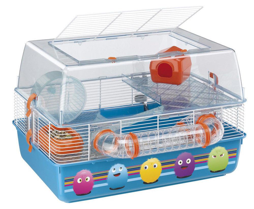 Ferplast DUNA FUN DECOR Клетка для хомяков с декоративным рисунком