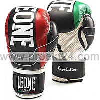 Боксерские перчатки Leone Revolution Black-10 oz